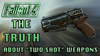 "Fallout 4 | The Truth About ""Two Shot"" Weapons! (Myths Busted) Legendary Weapons Testing!"