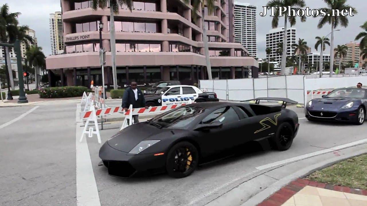Ferrari Drift And Ford gt
