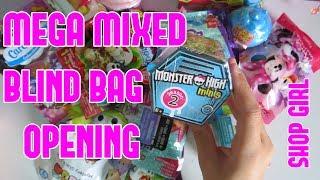 Blind Bag Wednesday ! Disney Blind Bags, Trolls Blind Bags, Flipazoo Blind bags - Blind Bag Videos