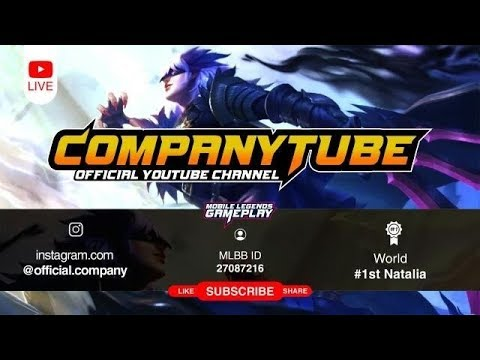 Mobile Legends Limit.Company Live 3/23 Push Rank