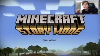 Minecraft Story Mode | ORDER OF THE STONE!! | Episode 1 [#1]