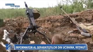 Azi 19 mai a fost prins un moldovean ce lucra pentru separatiştii din Donbas.