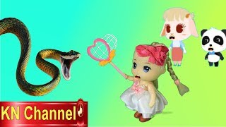 Trò chơi KN Channel BÚP BÊ ĐI CẮM TRẠI BẮT RẮN