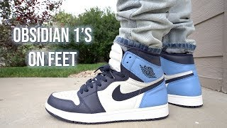 """Obsidian"" Air Jordan 1 W/ On Foot Review"