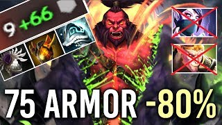 75 Armor -80% Damage Call Axe vs Right Click Team Epic Top15 Gameplay by Bokerino Dota 2