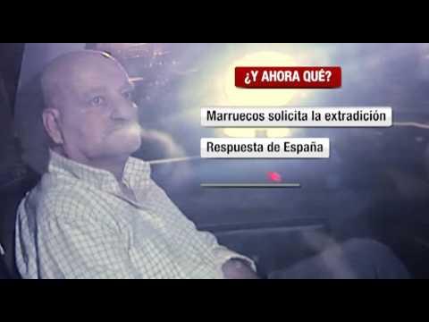 El pederasta indultado por Marruecos entra en la cárcel