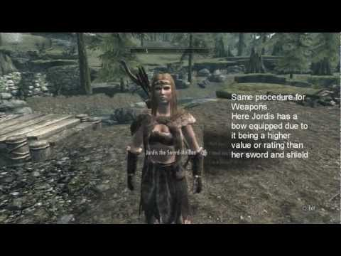Jordis wearing Fur Armours  Skyrim Guide