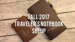 download lagu Fall 2017 Traveler's Notebook Setup gratis
