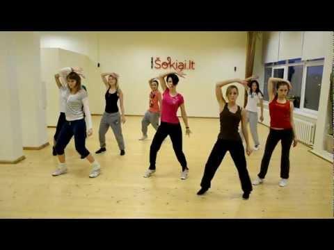 Pauliaus Šinkūno vyresnioji grupė - Repeticija 2012 03 29 - Crystal Waters - 100% Pure Love