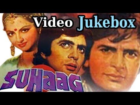 Suhaag -video Jukebox - Amitabh Bachchan - Rekha -  Shashi Kapoor - Asha Bhosle - Mohd Rafi video