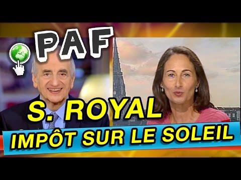 POINT PAF - Ségolène Royal crée la surprise avec un impôt sur le soleil