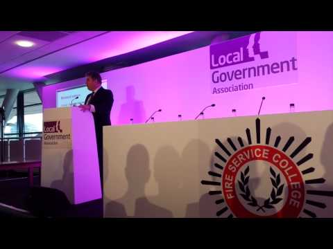 LGA Fire Conference 2014 - Brandon Lewis ministerial address