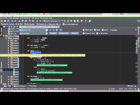Замена в PyCharm с помощью регулярных выражений