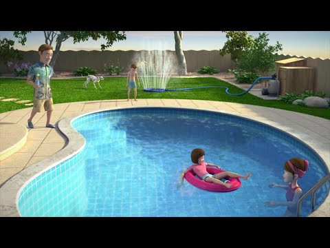 How to Lower Your Pool Water -Eco Pool Drain - Sand & Cartridge Filter Only (not for DE filters)
