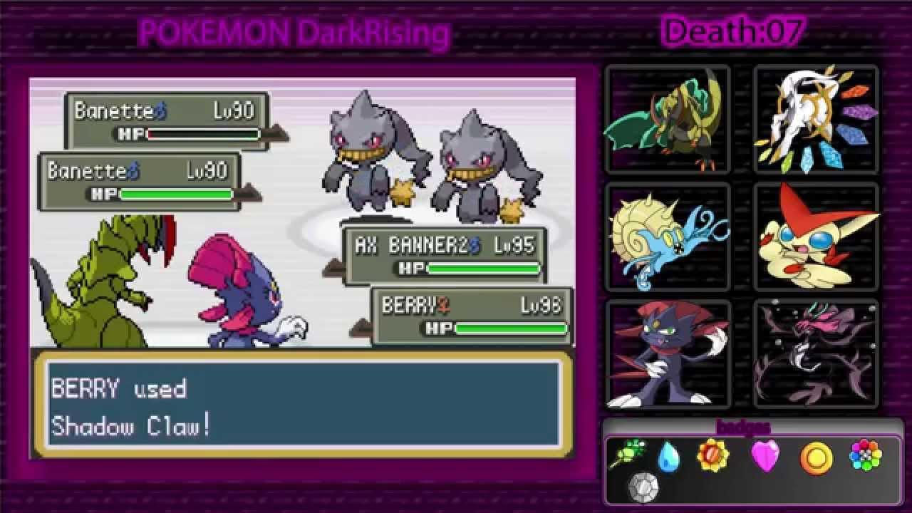 Dark Lugia Dark Rising Pokemon Dark Rising 2 Nuzlocke
