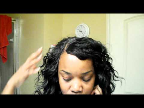Invisible Part Quickweave Tutorial Using Salon Pro 30 Sec Weave Wonder Wrap