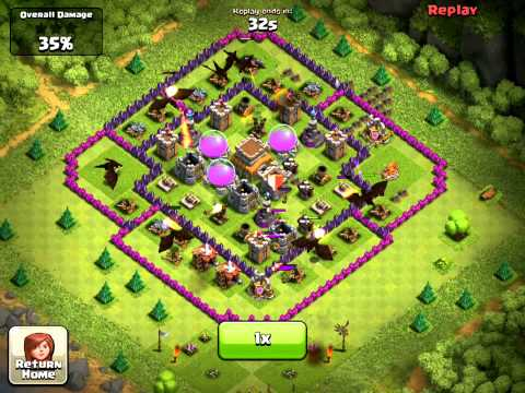 Clash of Clans Town Hall Level 8 Designs
