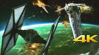 Star Wars: The Last Jedi   Dreadnought Battle - Bomber Scene (4K ULTRA HD)