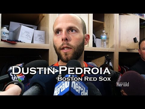 Press Box : Red Sox Dustin Pedroia Arrives at Spring Training