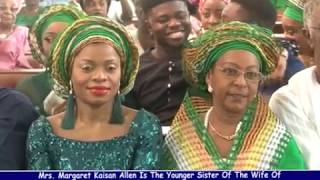CHIEF OLU ADEBANJO'S IN LAW MRS MARGARET KAISON ALLEN GLOWS AND SPARKLES AT 80