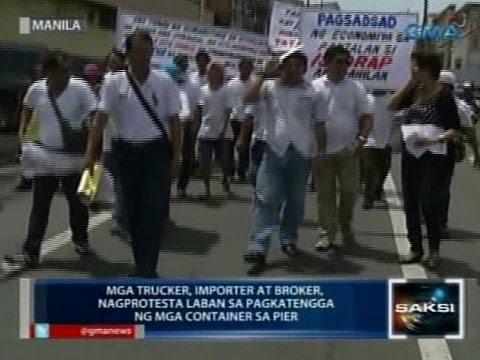 Saksi: Anim na buwang pagpapatigil sa Manila truck ban, hiling ng truckers' group