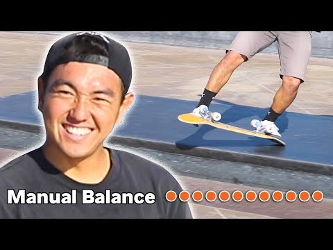 SKATER with REAL LIFE PERFECT BALANCE CHEAT!