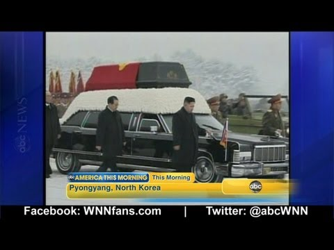 Kim Jong Il Funeral in North Korea; Thousands Mourn