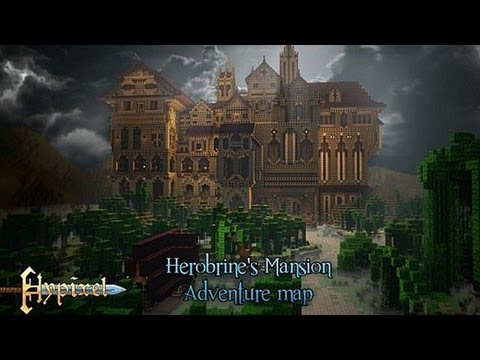 Herobrine's Mansion del 3 (MC Custom map, Swedish)