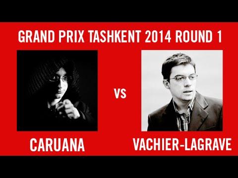 Grand Prix Tashkent 2014 Round 1 - Caruana vs Vachier-Lagrave