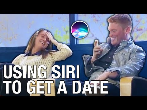 Video: Using Siri To Get A Date