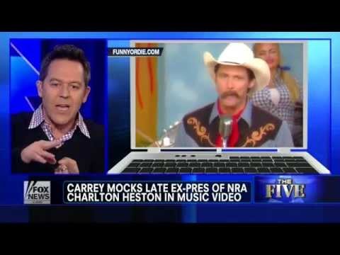 The Five: Jim Carrey's anti-gun tirade & Greg Gutfeld's Response