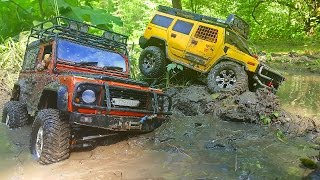 RC Extreme Pictures – RC Truck stuck! First RESCUE ACTION FAILED!!! 6x6 Helps Stuck In The Mud!