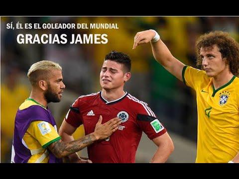 James Rodriguez Goleador del Mundial de Brasil 2014 Bota de Oro adidas