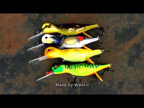 приманка утенок для рыбалки видео