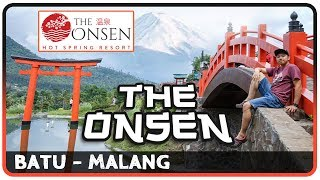THE ONSEN - Japanese style in Batu City, Malang - East Java. Indonesia