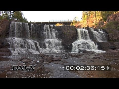 Gooseberry Falls State Park video, October 2008