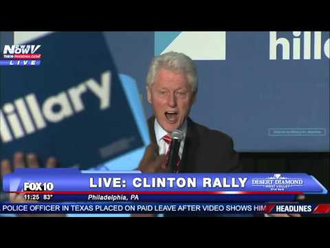 MUST WATCH: Bill Clinton SHUTS DOWN Black Lives Matter Protesters