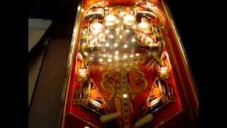 Démo flipper Bally Matahari (1978) restauré