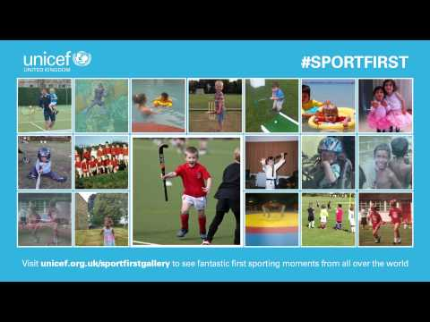 Glasgow 2014 & UNICEF - First Sport Moments from all over the world