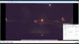 VLC Filter. How to get much more details from NIGHT video footage.