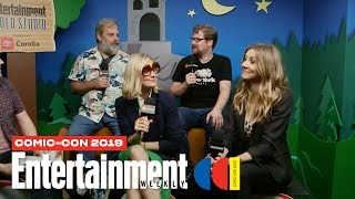 'Rick and Morty' Cast Joins Us LIVE | SDCC 2019 | Entertainment Weekly