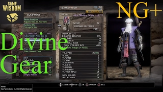 NG+ Nioh -- Divine Gear Explained
