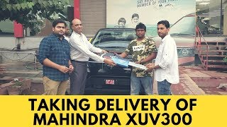 Taking Delivery of XUV300 2019 | XUV300 | Mahindra XUV300 | First Impressions