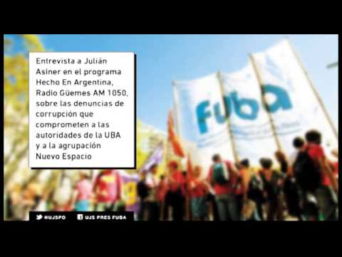 Entrevista a Julián Asiner en el programa Hecho En Argentina