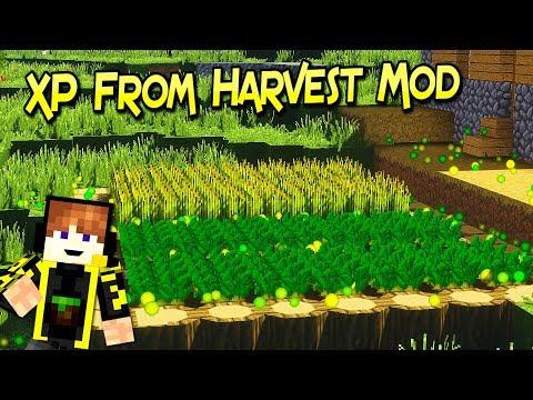 XP From Harvest Mod | Granja De Experiencia | Para Minecraft 1.12.2 | Review En Español