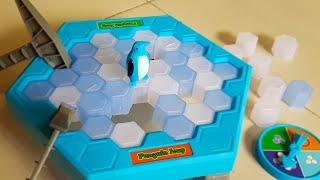 Trò chơi vui đập chim cánh cụt Penguin Traplce Breaking Puzzle Kids Toy