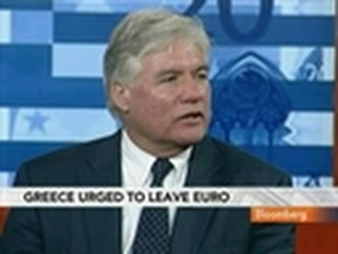 CEBR's McWilliams Says Euro's Collapse `Matter of Time'