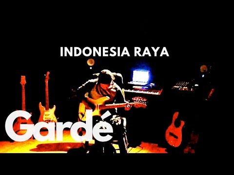 Gardé - Indonesia Raya - (guitar) video