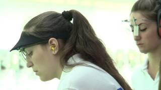 Roma Campionati Italiani Pistola 10 metri juniores donne