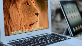 New iPad 3 vs MacBook Air 11